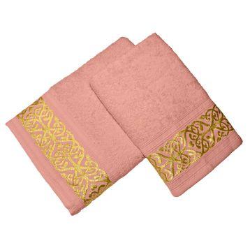 Комплект из 2-х полотенец махровых GOLD 3