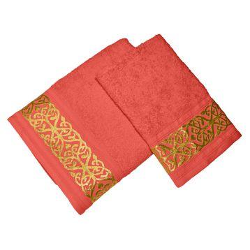 Комплект из 2-х полотенец махровых GOLD 1