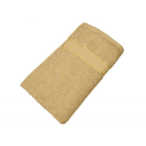 Купить Махровое полотенце кофе с молоком 50х90 хлопок, AISHA по цене от 222 Р. с доставкой