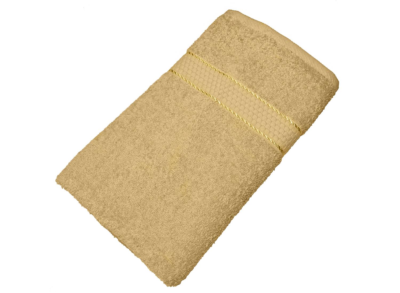 Махровое полотенце кофе с молоком 50х90 хлопок, AISHA