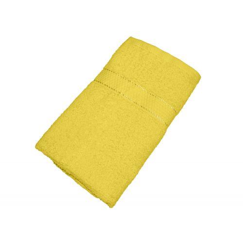 Махровое полотенце желтое 50x90 хлопок, AISHA