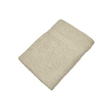 Махровое полотенце бежевое 70х140 хлопок, AISHA
