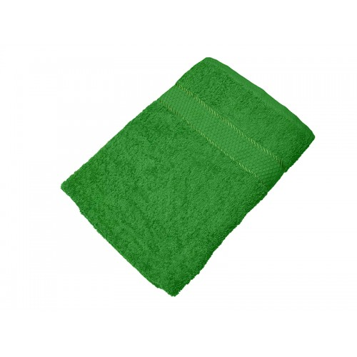 Купить Махровое полотенце зеленое 70х140 хлопок, AISHA по цене от 390 Р. с доставкой