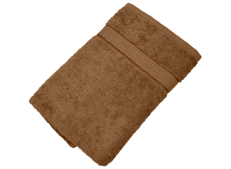 Махровое полотенце коричневый 50х90 хлопок, AISHA