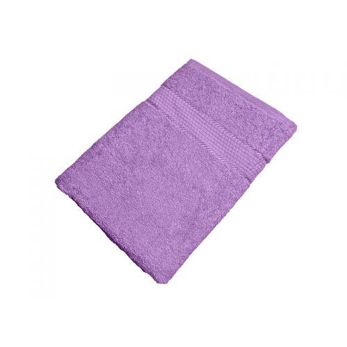 Купить Махровое полотенце сиреневое 70х140 хлопок, AISHA по цене от 476 Р. с доставкой