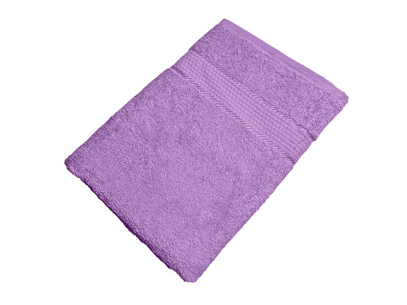 Махровое полотенце сиреневое 70х140 хлопок, AISHA