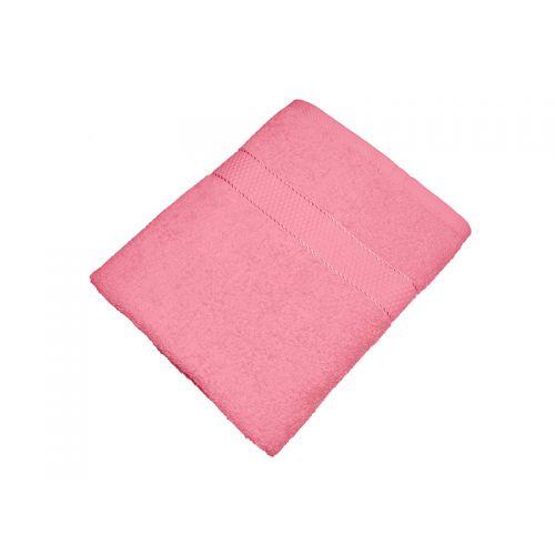 Купить Махровое полотенце розовое 70х140 хлопок, AISHA по цене от 476 Р. с доставкой