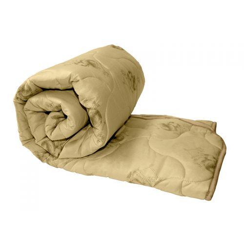 """Купить Одеяло бежевое, верблюжья шерсть 250 г,""""ЭГО"""" по цене от 889 Р. с доставкой"""
