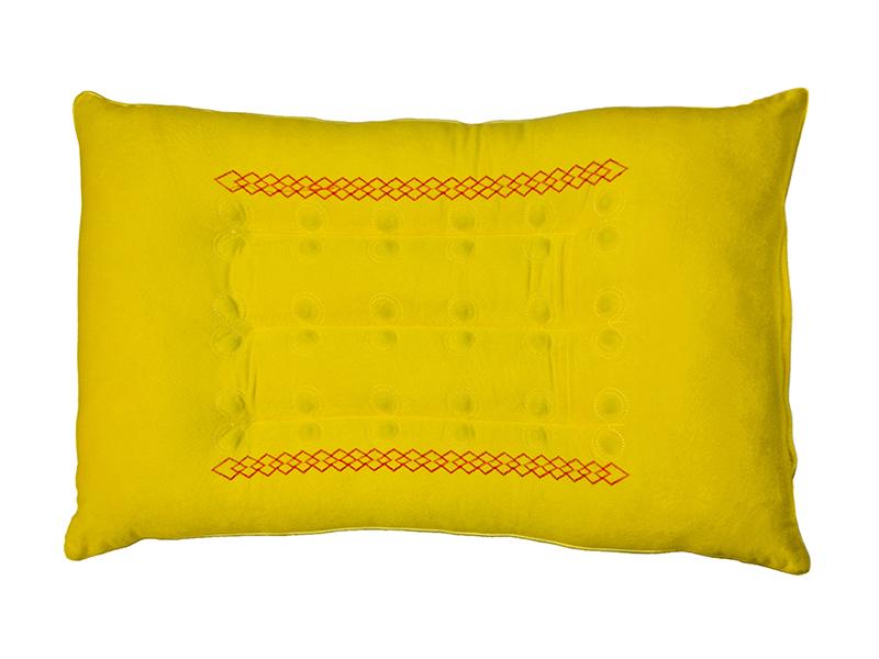 """Подушка ортопедическая с магнитными аппликаторами, велюр, """"ЭГО"""""""