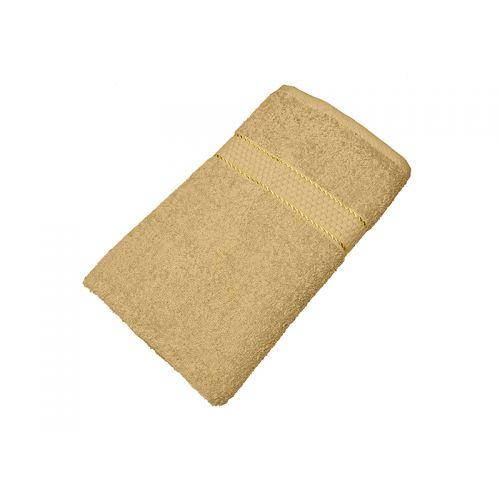 Махровое полотенце кофе с молоком 70х140 хлопок, AISHA