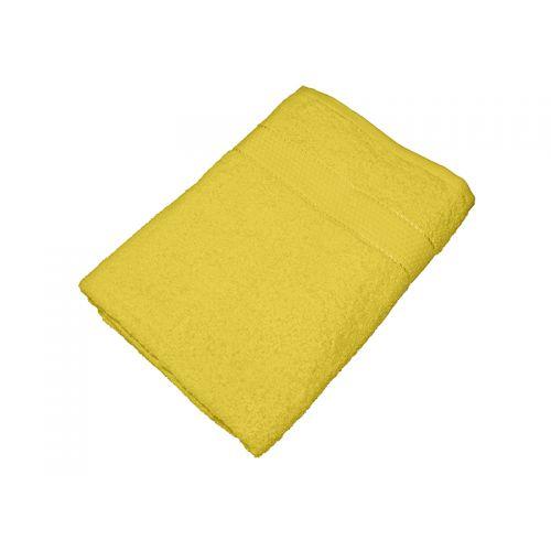 Купить Махровое полотенце желтое 70x140 хлопок, AISHA по цене от 476 Р. с доставкой