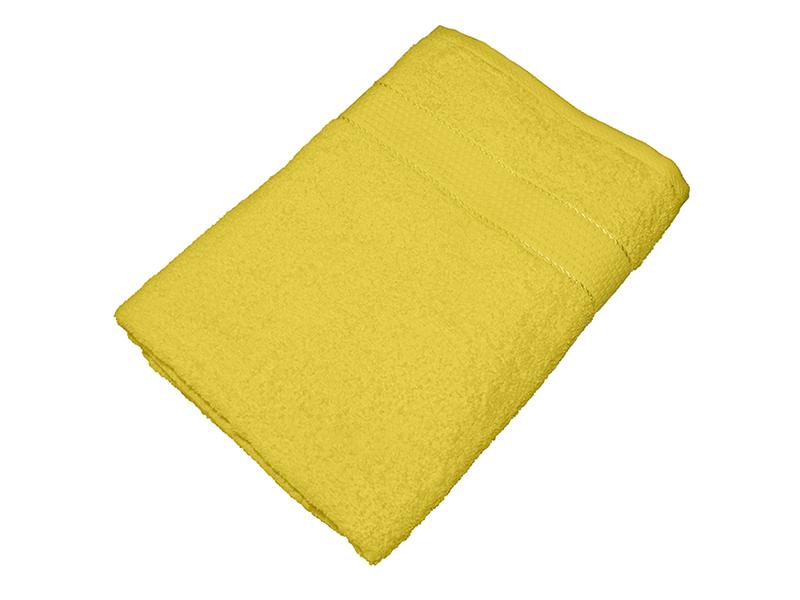 Махровое полотенце желтое 70x140 хлопок, AISHA