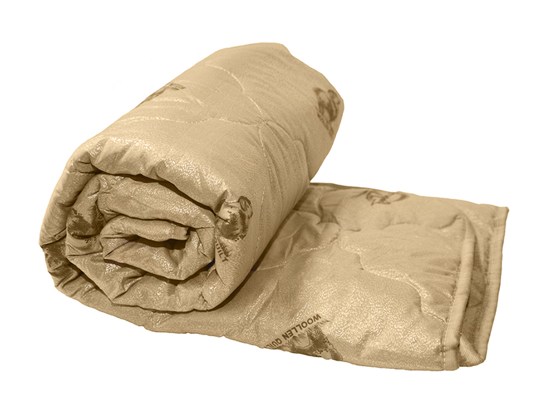 """Одеяло детское овечья шерсть 300 г, тик, в сумке, """"ЭГО"""""""