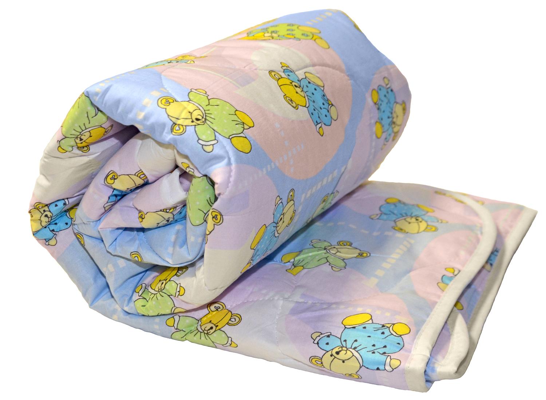 """Одеяло детское овечья шерсть 300 г, бязь, в сумке, """"ЭГО"""""""