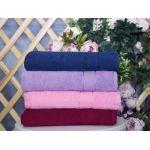 Купить Махровое полотенце розовое 50x90 хлопок, AISHA по цене от 222 Р. с доставкой