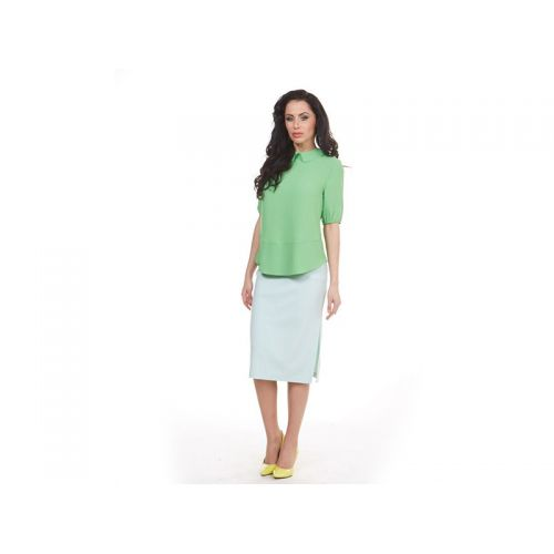 Купить Блуза женская, лайм, KRISNA по цене от 1 328 Р. с доставкой