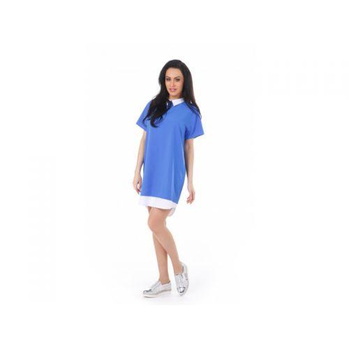 Купить Платье женское Люмина, голубой, KRISNA по цене от 1 960 Р. с доставкой