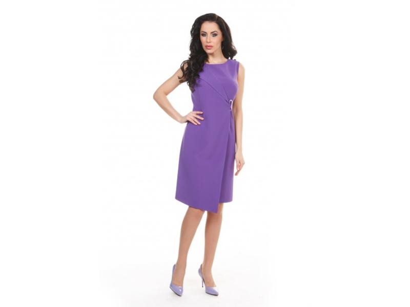 Платье женское Мадина,фиолетовый, KRISNA