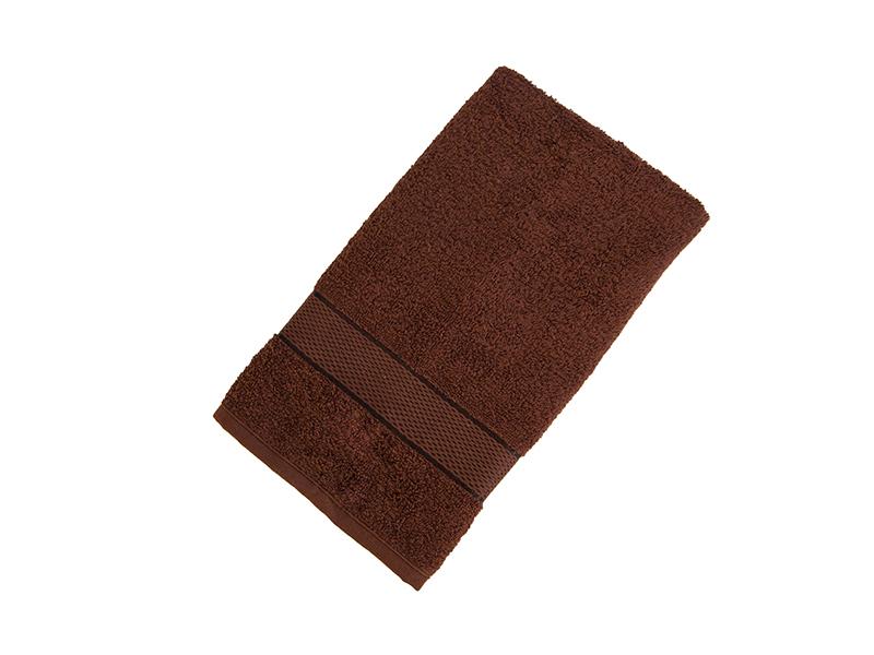 Махровое полотенце подарочное 50х90 шоколад УНДИНА