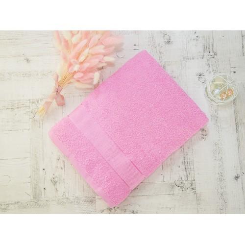 Купить Махровое полотенце подарочное 70х130 розовое УНДИНА по цене от 525 Р. с доставкой