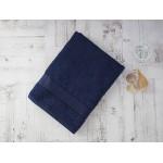 Купить Махровое полотенце подарочное 70х130 темно-синее в коробке УНДИНА по цене от 629 Р. с доставкой