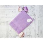 Купить Махровое полотенце подарочное 70х130 сиреневое в коробке УНДИНА по цене от 730 Р. с доставкой