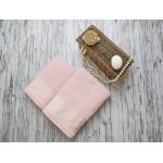Купить Комплект из 2-х полотенец махровых розовый ФРАНСУА по цене от 1 559 Р. с доставкой