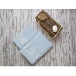 Купить Комплект из 2-х полотенец махровых голубой РИШАР по цене от 1 559 Р. с доставкой