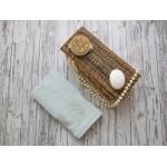 Купить Махровое полотенце подарочное 50х90 ментол ФРАНСУА  по цене от 520 Р. с доставкой